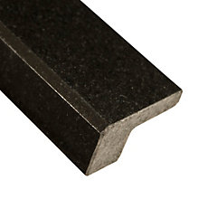 Absolute Black Square Granite Edge