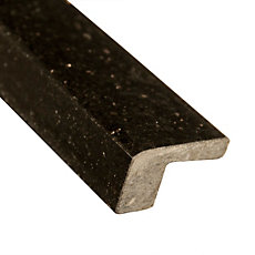 Galaxy Black Square Granite Edge