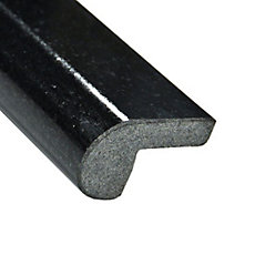 Absolute Black Round Granite Edge