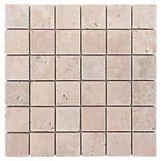 Country Beige Travertine Mosaic