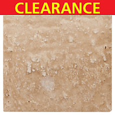 Clearance! Caramelo Honed Cushion Travertine Tile