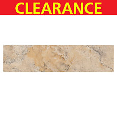 Clearance! Crema Viejo Polished Travertine Tile