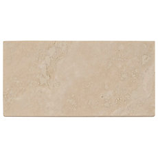 Cote D Azur Brushed Travertine Tile