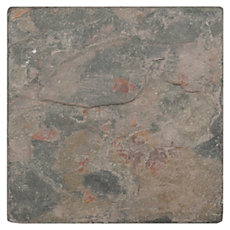 Peacock Tumbled Slate Tile