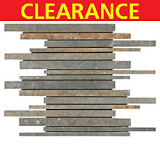 Clearance! Multicolor Stick Slate Mosaic