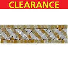 Clearance! Tuscan Onyx Marble Border