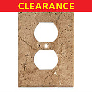 Clearance! Noce Travertine Outlet Plate