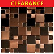 Clearance! Dark Random Metal Mosaic