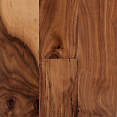 Tobacco Trail Acacia Locking Hand Scraped Engineered Hardwood