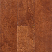 Amaretto Birch Hand Scraped Engineered Hardwood