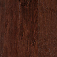 Wilderness Brown Hickory Hand Scraped Engineered Hardwood