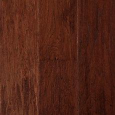 Cajun Spice Hickory Hand Scraped Engineered Hardwood