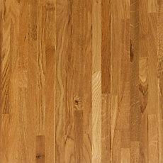 Timberclick Natural Oak Locking Solid Hardwood