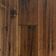 Acacia Leaf Maple Hand Scraped Solid Hardwood Floor And Decor