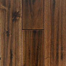 Acacia Leaf Maple Hand Scraped Solid Hardwood