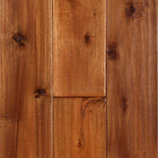 Natural Koa Hand Scraped Solid Hardwood