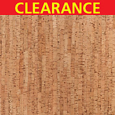 Clearance! Bamboo Natural Cork Plank